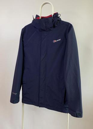 Оригинальная куртка ветровка berghaus gore-tex из новых коллекций