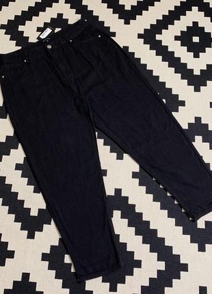 Базовые чёрные джинсы. dad momjeans, момчики5 фото