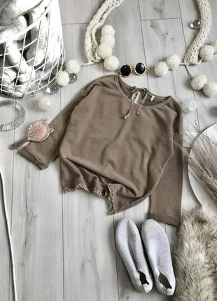 Кофта джемпер реглан блюзка блуза водолазка