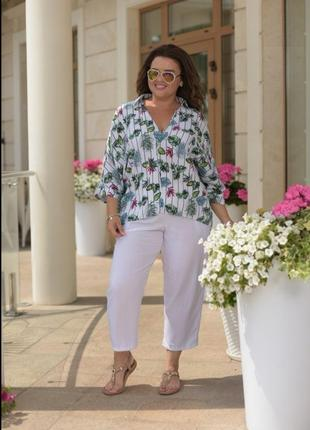 Женские летние укороченные брюки штаны карго большого размера # sale # primark