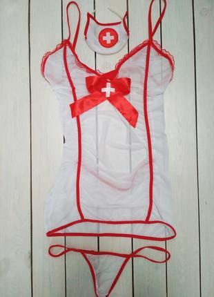 Костюм медсестри, врача, доктора, плаття