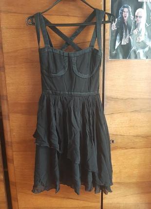 Шелковое платье дизайнерское