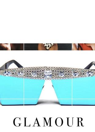 Крутые солнцезащитные очки с камнями
