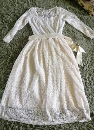 Дуже ніжна сукня плаття