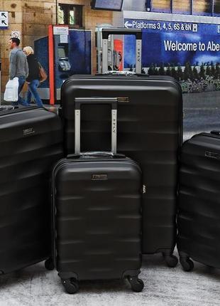 Чемоданы поликарбонат валіза fly 960 новинка польша