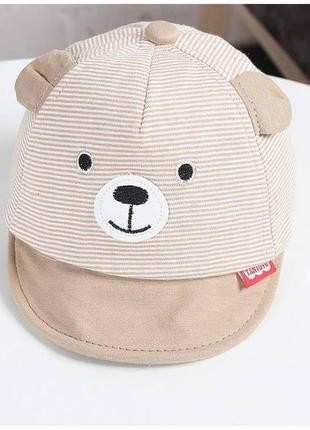 Кепка bear коричнева
