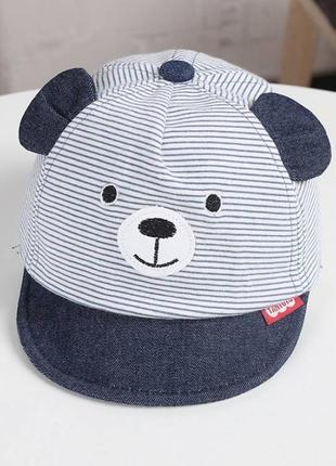 Кепка bear синя