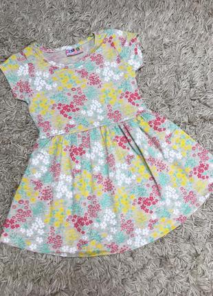 Платье летнее для девочки 86-116