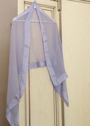 Новий.шовковий тоненький палантин 100% silk