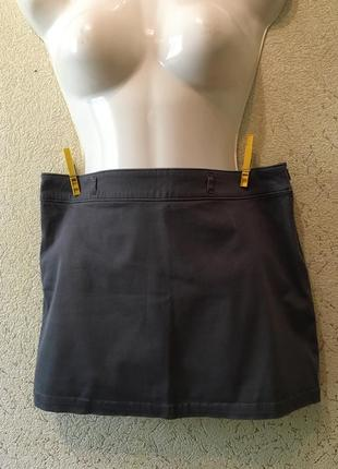 Легкая джинсовая стрейчевая юбка/мини юбочка