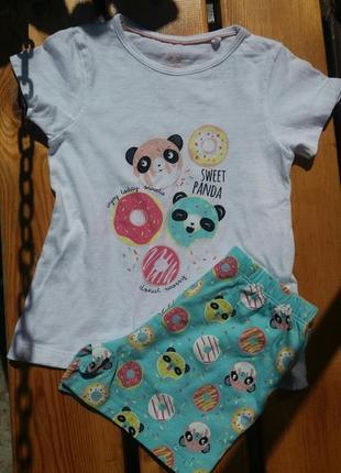 Пижама lupilu для девочки 4-6 лет