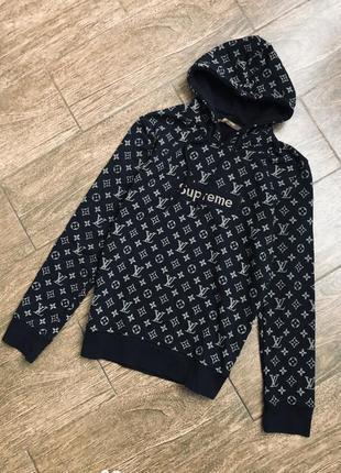 Очень стильный худи/свитер/кофта supreme