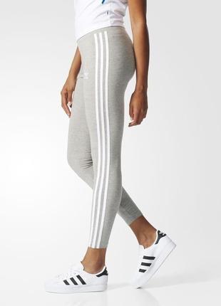 Спортивные лосины adidas originals grey