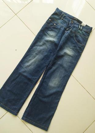 Прямые джинсы трубы ретро
