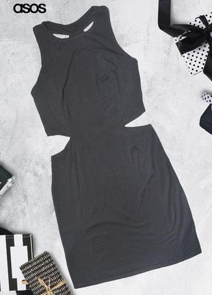 Платье с вырезами по бокам на талии asos