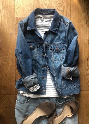 Куртка джинсовая женская forever 21