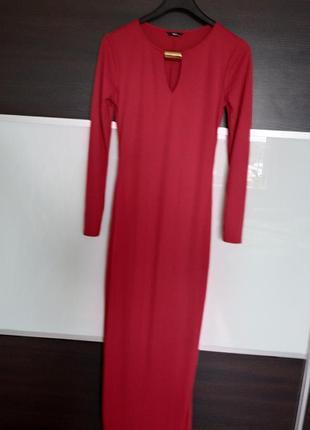 Нарядное вечернее платье в пол m&co