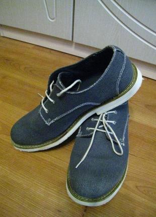 Мужские легкие туфли clarks на р.42 - 28см