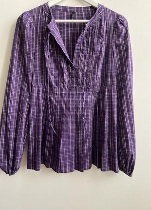 Рубашка united colors of benetton p.m #1105 1+1=3🎁