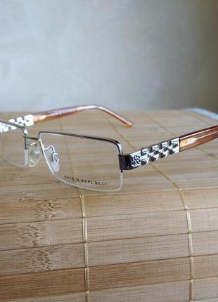 Фирменная новая оправа под линзы, очки rock& republic