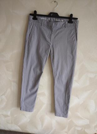 Летные укороченные коттоновые чинос штаны
