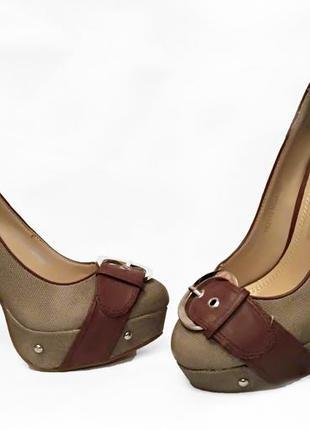 Туфли от yumex р.36