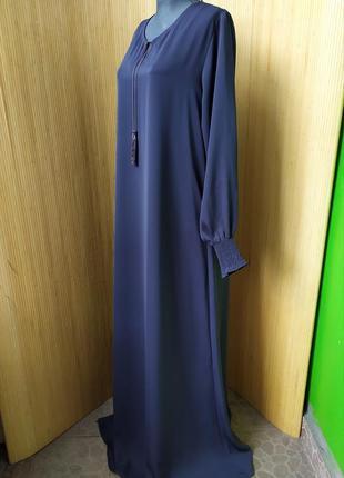 Длинное базовое платье / абая / галабея