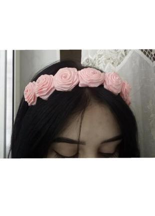 Ободок для волос, обруч, украшение для волос, обруч с цветами, летняя мода, скидки