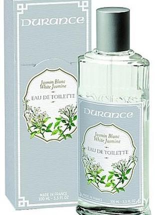 Туалетная вода durance jasmin blanc white jasmine тестер 100% оригинал