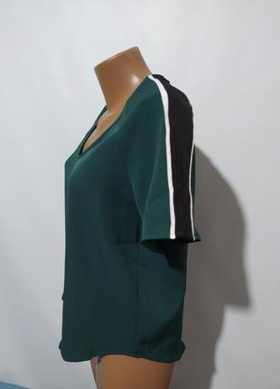 Блузка футболка v-вырез
