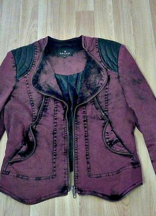 Стильная куртка жакет пиджак косуха