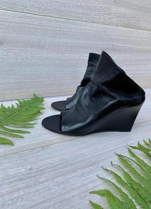 Balenciaga paris кожаные мюли босоножки
