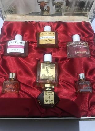 Винтажный редкий набор французской парфюмерии