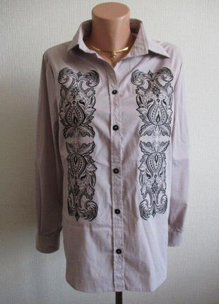 Рубашка с вышивкой cornett вол