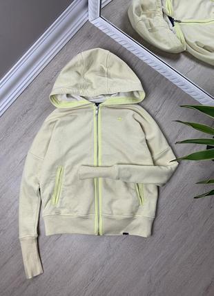 Adidas женская свитшот худи толстовка кофта адидас желтая оригинал