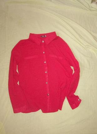 Рубашка красная легкая