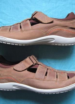 Panama jack meridian mink (44) кожаные сандалии мужские