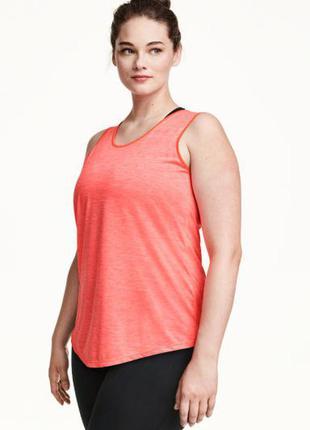 Спортивная майка (для йоги) н&м, l