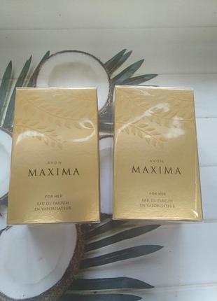 Суперпропозиція!!!парфумована вода maxima від avon