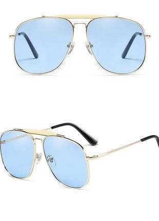 Крутые солнцезащитные очки авиаторы
