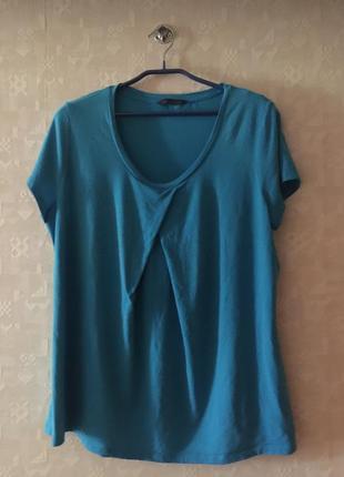 Голубая футболка m&s