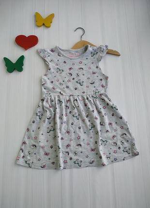 2-3 года платье primark