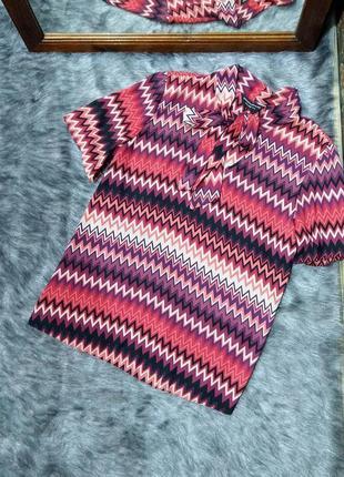 Sale блуза кофточка с геометрическим принтом dorothy perkins