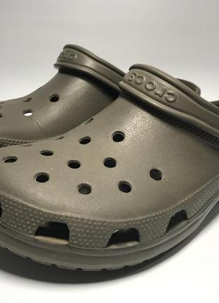 Мужские шлепки шлепанцы сабо кроксы crocs