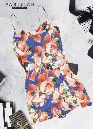 Нежный цветочный ромпер parisian collection