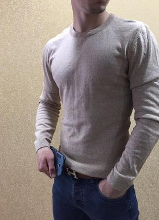 Джемпер asos. мужская кофта asos, летний джемпер next. бежевая кофта асос