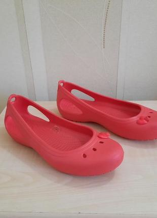 Балетки кроксы crocs оригинал размер 39-40