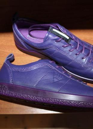Ecco soft 3 оригинальные кожаные полуботинки
