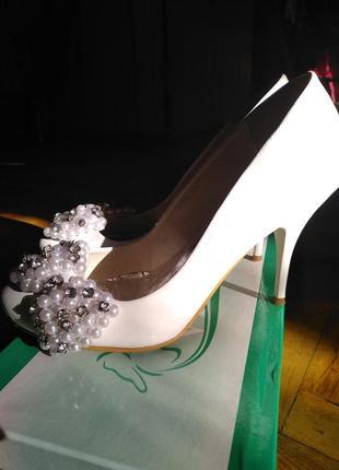 Туфли, самые удобные, самые красивые! свадебные.