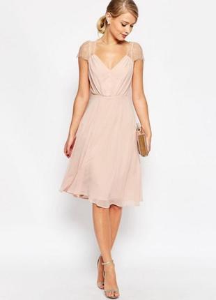 Sale платье с кружевный декором azbro